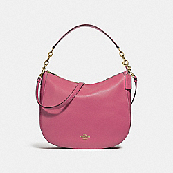 ELLE HOBO - F31399 - STRAWBERRY/IMITATION GOLD