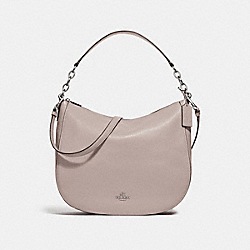 ELLE HOBO - F31399 - GREY BIRCH/SILVER