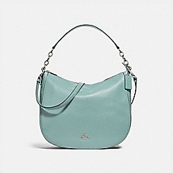COACH F31399 Elle Hobo CLOUD/SILVER