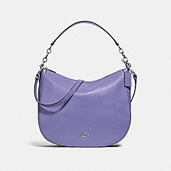 COACH F31399 Elle Hobo LIGHT PURPLE/SILVER