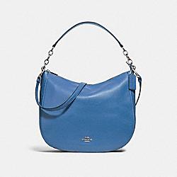 COACH F31399 Elle Hobo SKY BLUE/SILVER