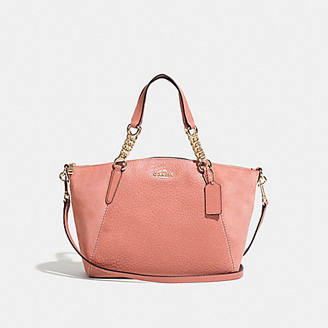 COACH F31410 SMALL KELSEY CHAIN SATCHEL MELON/LIGHT-GOLD