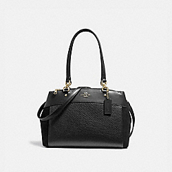 COACH F31418 - BROOKE CARRYALL BLACK/LIGHT GOLD