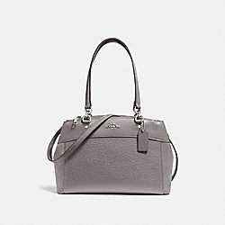 COACH F31418 Brooke Carryall HEATHER GREY/SILVER