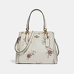 COACH F31419 - MINETTA CROSSBODY WITH MINI MAGNOLIA BOUQUET PRINT CHALK MULTI/LIGHT GOLD