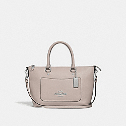 COACH F31466 Mini Emma Satchel GREY BIRCH/SILVER