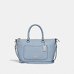 COACH F31466 Mini Emma Satchel CORNFLOWER/SILVER