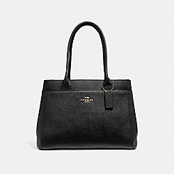 COACH F31474 - CASEY TOTE BLACK/LIGHT GOLD