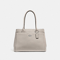 CASEY TOTE - F31474 - GREY BIRCH/SILVER