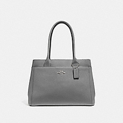 CASEY TOTE - F31474 - HEATHER GREY/SILVER