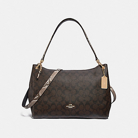 COACH F31487 MIA SHOULDER BAG IN SIGNATURE CANVAS BROWN-BLACK/MULTI/LIGHT-GOLD