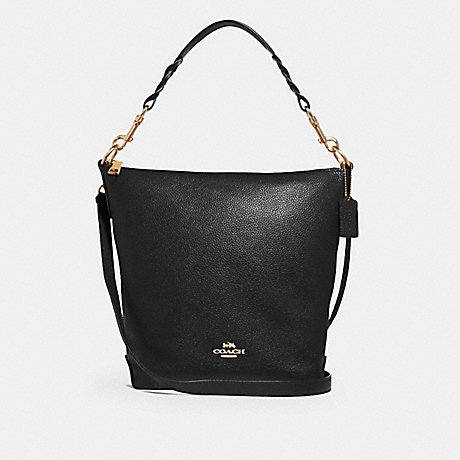 COACH F31507 ABBY DUFFLE BLACK/LIGHT-GOLD