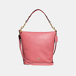 ABBY DUFFLE - F31507 - ROSE PETAL/IMITATION GOLD