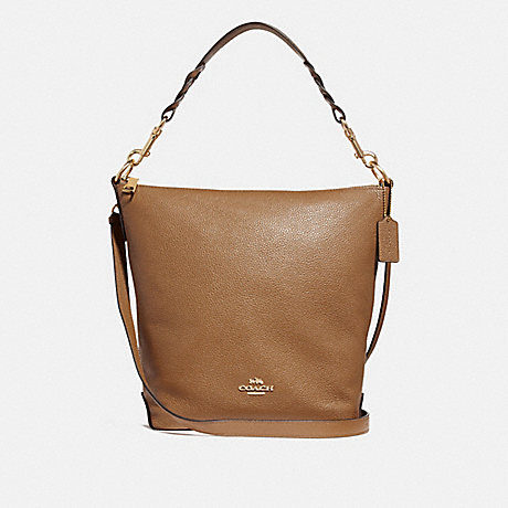 COACH F31507 ABBY DUFFLE LIGHT-SADDLE/LIGHT-GOLD