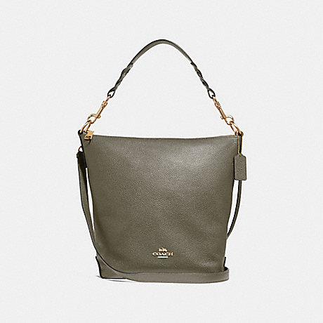 COACH F31507 ABBY DUFFLE MILITARY GREEN/GOLD