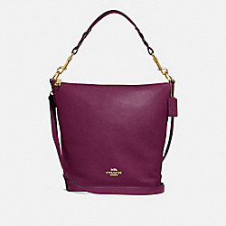 COACH F31507 Abby Duffle IM/DARK BERRY