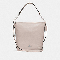 ABBY DUFFLE - F31507 - GREY BIRCH/SILVER