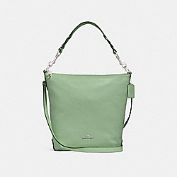 ABBY DUFFLE SHOULDER BAG - f31507 - CLOVER/SILVER