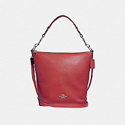 COACH F31507 Abby Duffle WASHED RED/SILVER