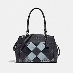 COACH F31533 Brooke Carryall MIDNIGHT MULTI/SILVER