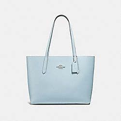 AVENUE TOTE - f31535 - pale blue/atlantic/silver