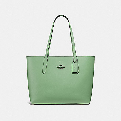 AVENUE TOTE - COACH F31535 - clover/midnight/silver