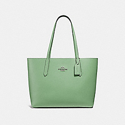 COACH F31535 Avenue Tote CLOVER/MIDNIGHT/SILVER