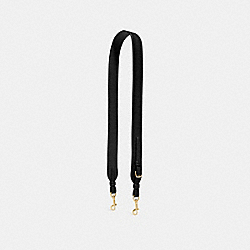 NOVELTY STRAP - F31539 - BLACK/LIGHT GOLD