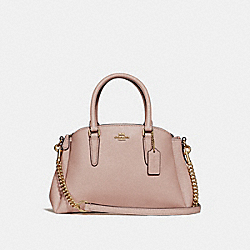 COACH F31560 - MINI SAGE CARRYALL NUDE PINK/GOLD