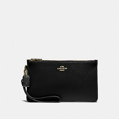 COACH F31585 CROSBY CLUTCH BLACK/LIGHT-GOLD
