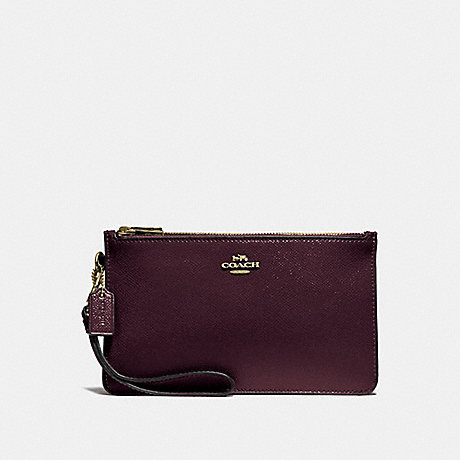 COACH F31585 CROSBY CLUTCH OXBLOOD-1/LIGHT-GOLD