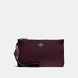 COACH F31585 Crosby Clutch OXBLOOD 1/LIGHT GOLD