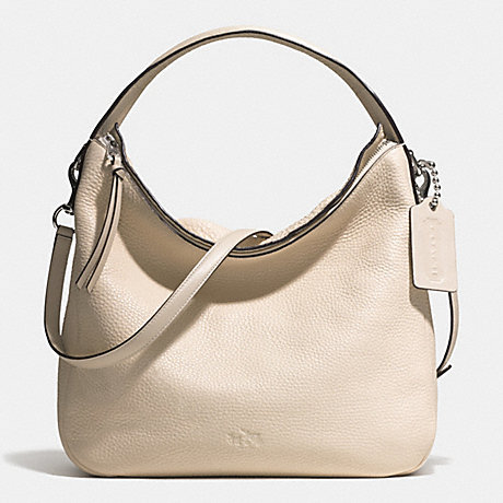 COACH f31623 BLEECKER SULLIVAN HOBO IN PEBBLE LEATHER  SVD1D