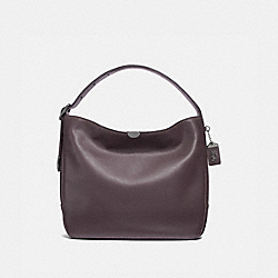 COACH F31674 - BEDFORD HOBO OXBLOOD/BLACK COPPER