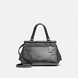 COACH F31709 Grace Bag 20 METALLIC GRAPHITE/DARK GUNMETAL