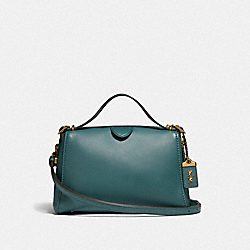 COACH F31724 - LAURAL FRAME BAG B4/EVERGREEN