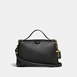 COACH F31724 Laural Frame Bag B4/BLACK