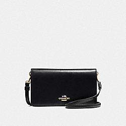 COACH F31867 Slim Phone Crossbody LI/BLACK