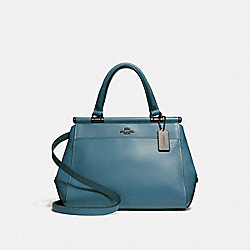 COACH F31916 Grace Bag CHAMBRAY/DARK GUNMETAL