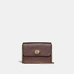 BOWERY CROSSBODY - F31938 - BRONZE/LIGHT GOLD