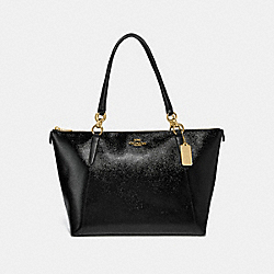 COACH F31970 - AVA TOTE BLACK/LIGHT GOLD