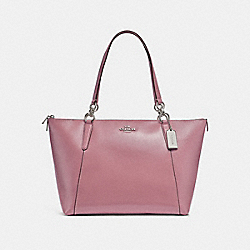 COACH F31970 Ava Tote SILVER/DUSTY ROSE