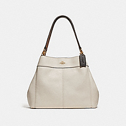 COACH F31987 Lexy Shoulder Bag CHALK MULTI/LIGHT GOLD