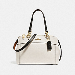 MINI BROOKE CARRYALL - f31988 - CHALK MULTI/light gold