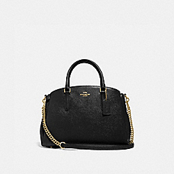 COACH F32017 - SAGE CARRYALL BLACK/LIGHT GOLD