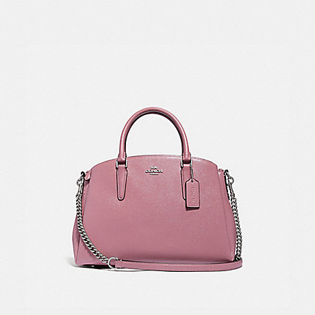 799ac7e0a COACH F32017 - SAGE CARRYALL - DUSTY ROSE/SILVER | COACH NEW-ARRIVALS