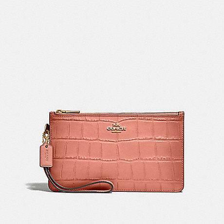 COACH F32036 CROSBY CLUTCH MELON/LIGHT-GOLD