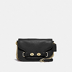 COACH F32099 Blake Crossbody 20 BLACK/LIGHT GOLD