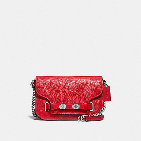 COACH F32099 BLAKE CROSSBODY 20 BRIGHT-RED/SILVER