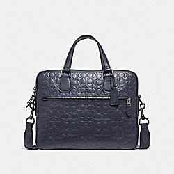 COACH F32210 Hudson 5 Bag In Signature Leather QB/MIDNIGHT NAVY